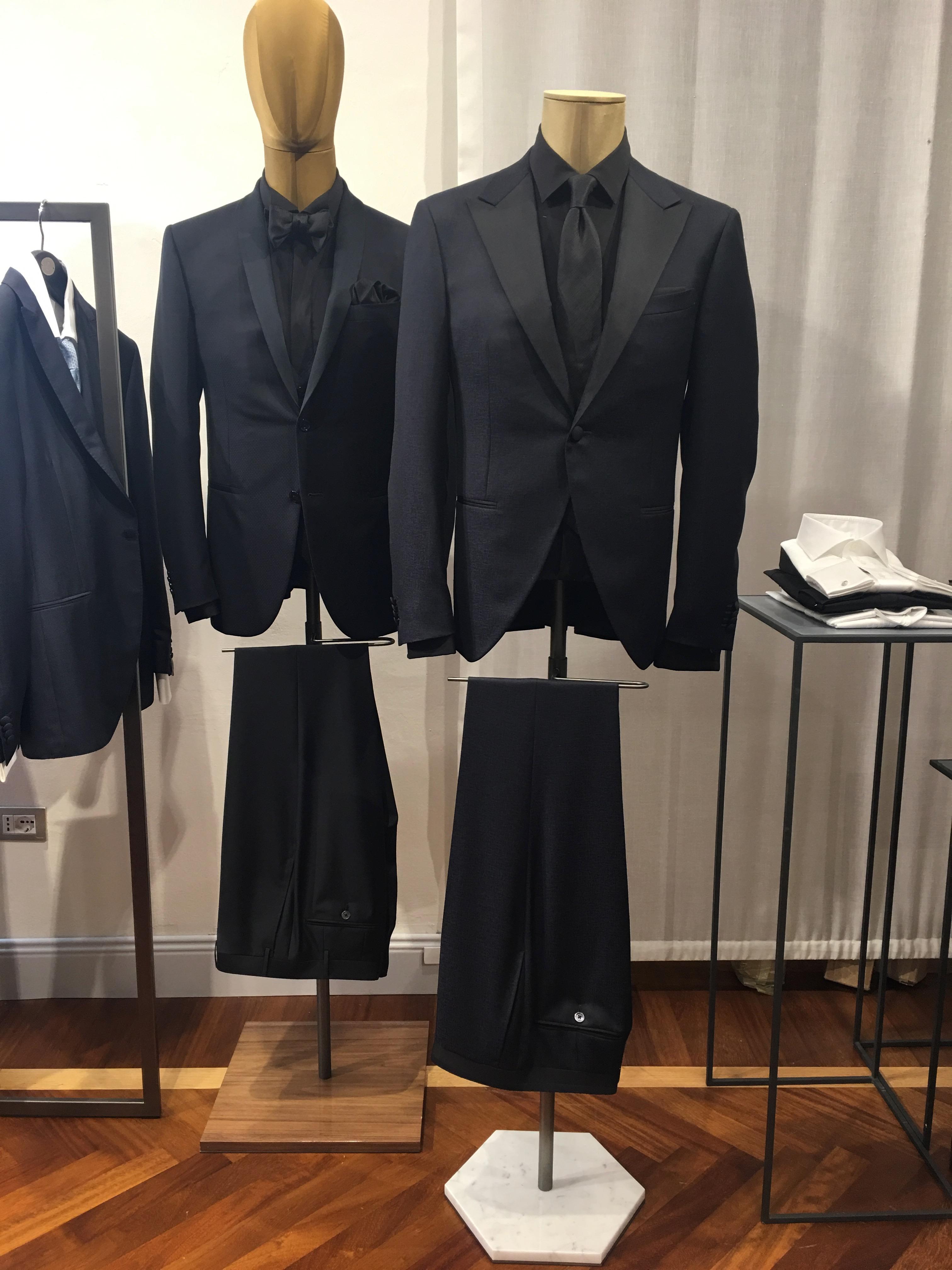 Corneliani Showroom Milan